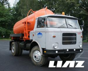 Autodoprava Zlaté Hory - LIAZ - fekální vůz