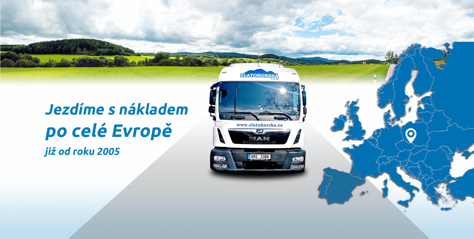 ZLATOHORSKÁ AUTODOPRAVA - nákladní doprava